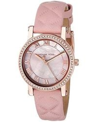 Michael Kors - Watches Petite Norie Three-hand Watch - Lyst