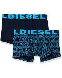 DIESEL - Shawn Trunks 2 Pack Logo - Lyst