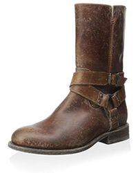 Frye - Jayden Harness Zip Ankle Boot - Lyst