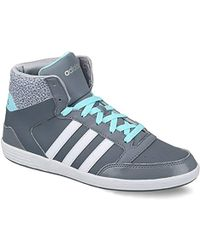 Neo Hoops Vulc Daily Twist Mid Trainers Hi Top Vl Gym Sports Shoes
