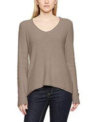 1b6bcaa2ba American Vintage Cazenovia Cotton Sweater in Brown - Lyst