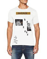 Benetton - T-shirt - Lyst