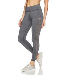 Betsey Johnson - Laser Cut Peek-a-boo 7/8 Legging - Lyst