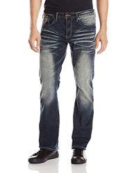 Buffalo David Bitton - King Slim Boot Cut Jean In Authentic Tinted Wash - Lyst