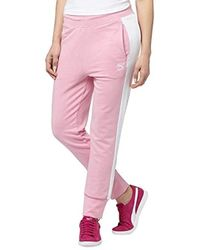 403f060d9521a Lyst - PUMA Classics Structured Archive T7 Pants in Pink
