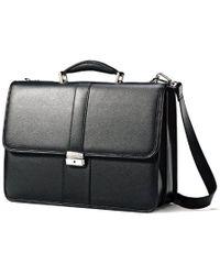 Samsonite - Leather Flapover Case - Lyst