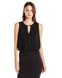 BCBGeneration - Banded Neck Surplus Top - Lyst