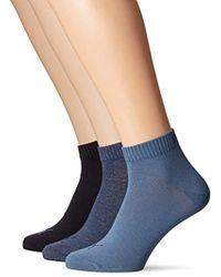 1e1bfae8e PUMA Quarter Socks Plain 3p, Unisex, Quarter Plain 3p in Red for Men ...