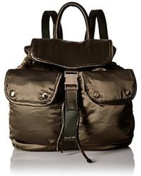 Steve Madden - , Jax, Women Satin Backpack With Functional Outside Pockets, Comfortable Shoulder Strap - Lyst