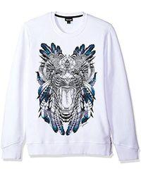 Just Cavalli - Graphic Sweatshirt - Lyst