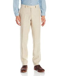 Franklin Tailored - Chambre Delave Linen Chase Trouser - Lyst