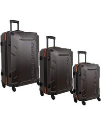 Timberland - 3 Piece Hardside Spinner Luggage Set - Lyst