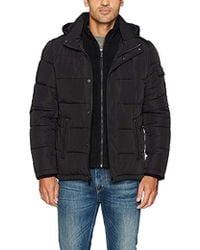 Calvin Klein - Alternative Down Puffer Jacket With Bib And Hood - Lyst