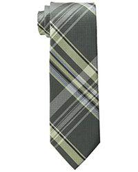 Calvin Klein - Plaid Tie - Lyst