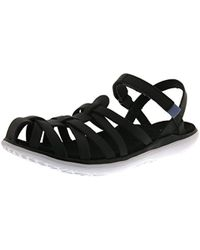 0c0db517cc32 Teva Terra Fi 4 W La Manta Black Women s Sandals In Multicolour in ...