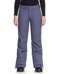 Roxy - Erjtp03056 Trousers - Lyst