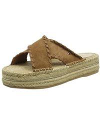 Tommy Hilfiger - ''s Interlace Suede Flatform Sandal Platform - Lyst
