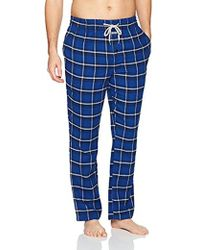 Kenneth Cole Reaction - Brushed Flannel Pant - Lyst