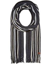 Ben Sherman - Vertical Stripe Knit Scf - Lyst