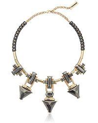 Steve Madden - Spike Statement Collar Necklace - Lyst