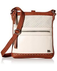 The Sak - Pax Swing Pack Cross Body, Stone Perforated - Lyst