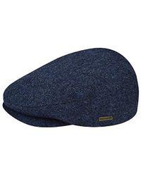 0ca61139c66bb Lyst - Kangol British Peebles Flat Ivy Cap Hat in Blue for Men