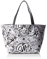 Steve Madden - Bashton Handbag, 's Mehrfarbig (doodle Print), 12x30x45 Cm (b X H T) - Lyst
