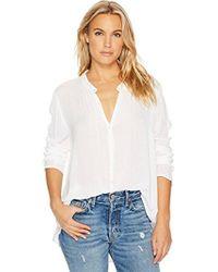 O'neill Sportswear - Brighton Woven Long Sleeve Top - Lyst