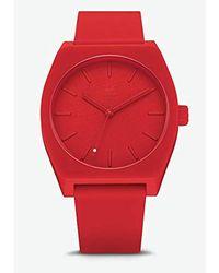 adidas - Reloj Analógico para Hombre de Cuarzo con Correa en Silicona  Z10-191- e49198c3a3e