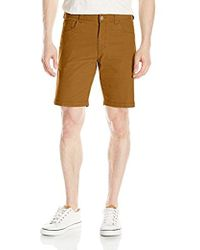 Woolrich - Nomad Midweight Canvas Modern Fit Short - Lyst