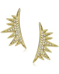 CC SKYE - The Lash Ear Crawlers Earrings - Lyst