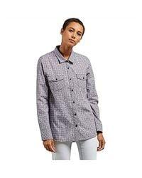 Volcom - Street Dreaming Long Sleeve Flannel Shirt - Lyst