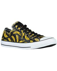 Converse - Andy Warhol Banana Leather Ox Sneakers - Lyst