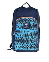 Ucl Football Backpack Unisex Navy Blue