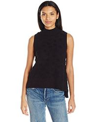 French Connection - Loopy Polka Sleeveless Sweater - Lyst