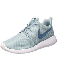 13f0e0b344ca Nike Roshe Run Men s Shoes (trainers) In Blue in Blue for Men - Lyst