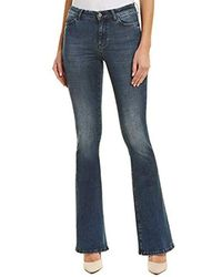 M.i.h Jeans - Bodycon Marrakesh High Rise Flare Slim Jeans - Lyst