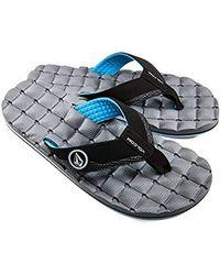 Volcom - Recliner Flip Flop Sandal - Lyst