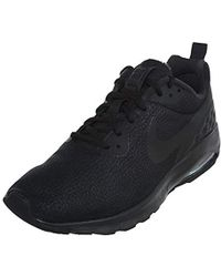 753d4ed28dd2 Nike Air Max Motion Lw Premium Trainers in Black for Men - Lyst