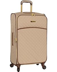 """Anne Klein - 25"""" Expandable Softside Spinner Carryon Luggage - Lyst"""