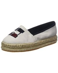 c17a524b89d280 Chanel Sequins And Patent Leather Cc Espadrilles in White - Lyst