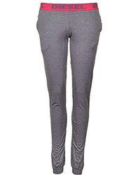 DIESEL - Babyx Pj Lounge Pant, Grey - Lyst