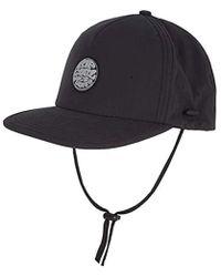 3bd030939ce Lyst - Billabong Surf Cap in Black for Men