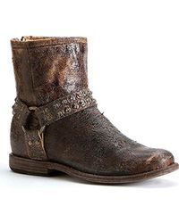 Frye - Phillip Studded Harness Boot - Lyst