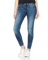 G-Star RAW - Damen Midge D-Cody Mid Waist Skinny Jeans - Lyst