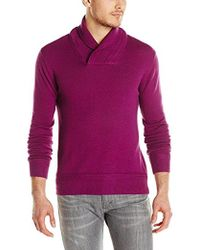 French Connection - Racked Wrap Wool Funnel Jumper Sweater - Lyst