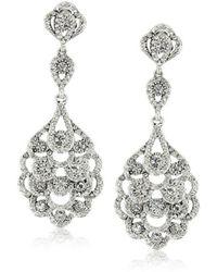 Nina - S Eiffel Earrings - Lyst