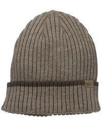 Dockers - Core Knit Beanie Hat With 2x2 Ribbed Knit - Lyst