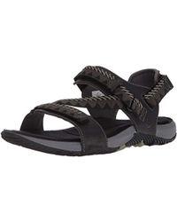 af2ca5eb7 Merrell Terrant Slide Sandal in Brown for Men - Lyst