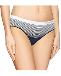 Calvin Klein - Seamless Illusions Hipster - Lyst